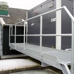 Brug voor onderhoud airco unit